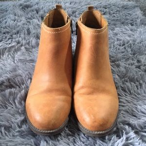 Sperry Camel Ankle Leather Boots | Size 7